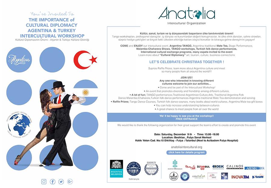 arjantin etkinlik davet